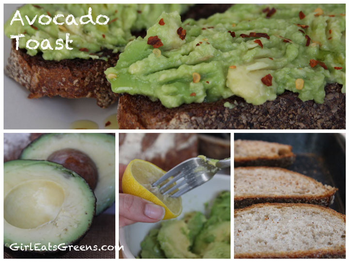 AvocadoToastCollage