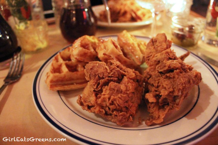 Sweet-Chick-NYC-vegetarian-chicken-and-waffles