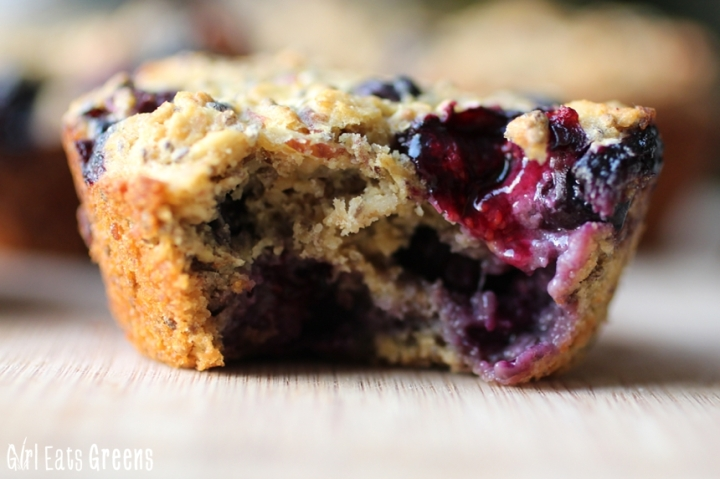 Blueberry Super Power MuffinsGirl Eats Greens_0011