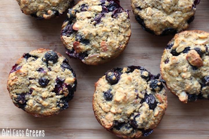 Blueberry Super Power MuffinsGirl Eats Greens_0012