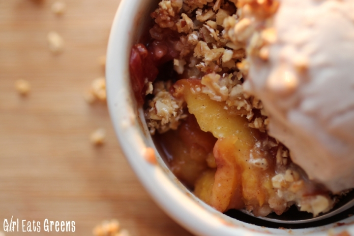 No Guilt Vegan Peach Cobbler Girl Eats Greens_0036