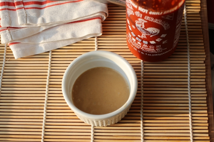 Quinoa Bowl with Tahini Sriracha Sauce Girl Eats Greens_0024