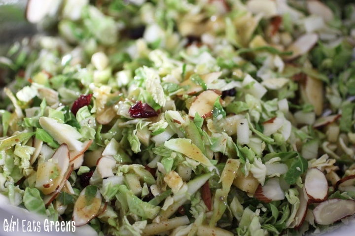 Brussels Sprout and Green Apple Slaw Vegan Girl Eats Greens_0011