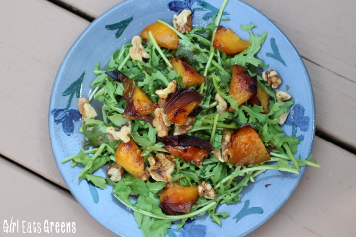 Grilled Peach Salad with Chili Lime Dressing Vegan Girl Eats Greens_0027