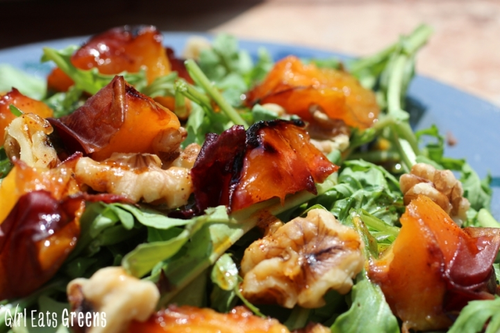 Grilled Peach Salad with Chili Lime Dressing Vegan Girl Eats Greens_0031