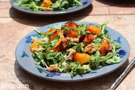 Grilled Peach Salad with Chili Lime Dressing Vegan Girl Eats Greens_0032