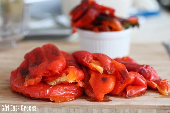 Roasted Red Pepper Walnut Spread Dip Vegan Girl Eats Greens_0021