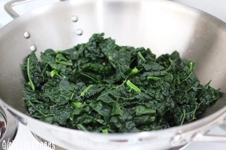 Coconut Curry Creamed Kale Gluten Free Vegetarian Vegan Girl Eats Greens_0012