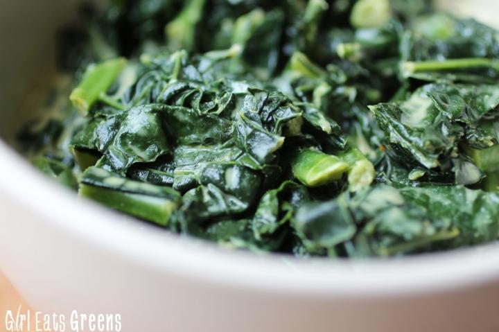 Coconut Curry Creamed Kale Gluten Free Vegetarian Vegan Girl Eats Greens_0019