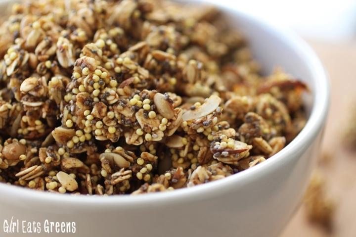 Pumpkin Spice Granola Gluten Free Vegan Girl Eats Greens_0017
