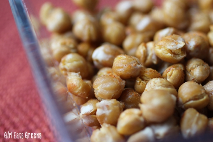 Baked Crispy Garlic Smokey Chickpeas Vegan Girl Eats Greens_0026