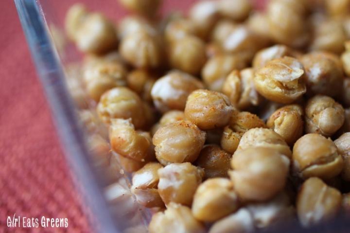 Baked Crispy Garlic Smokey Chickpeas Vegan Girl Eats Greens_0026