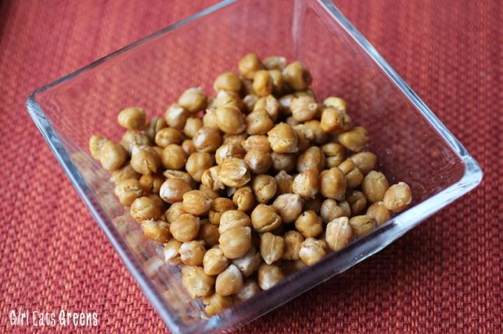 Baked Crispy Garlic Smokey Chickpeas Vegan Girl Eats Greens_0027