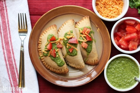 Ground Beef Empanadas Lentils Quinoa Jalapeno Lime Cilantro Dressing Vegan Girl Eats Greens_0026