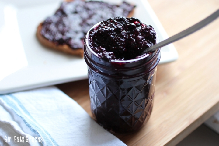 Blueberry Chia Seed Jam Low Sugar Vegan Vegetarian Girl Eats Greens_0014