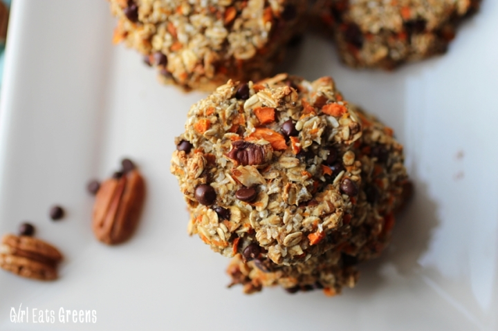 Magic Cookie Carrot Oat Pecan Coconut Vegan Vegetarian Girl Eats Greens_0025