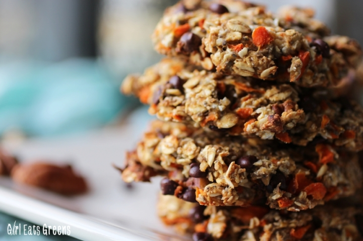 Magic Cookie Carrot Oat Pecan Coconut Vegan Vegetarian Girl Eats Greens_0026