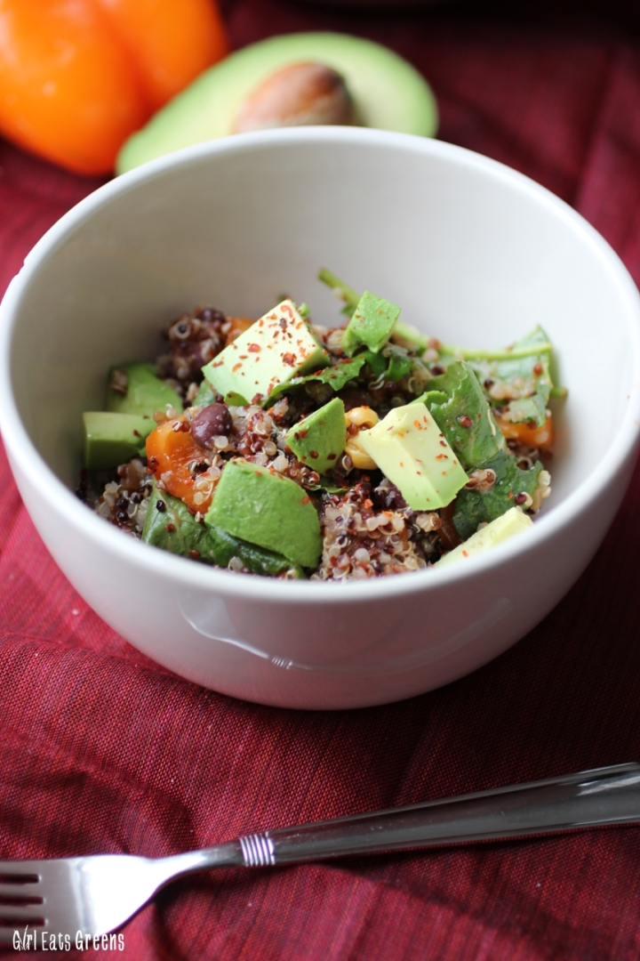 Protein Packed Mexian Quinoa Bowl Vegan Vegetarian Girl Eats Greens_0012