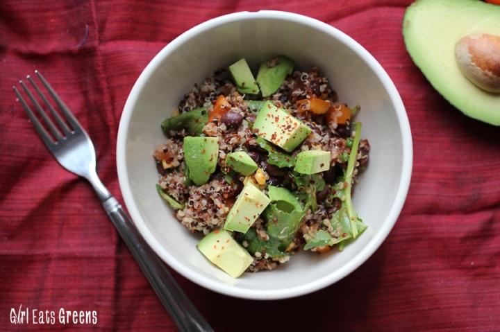 Protein Packed Mexian Quinoa Bowl Vegan Vegetarian Girl Eats Greens_0014