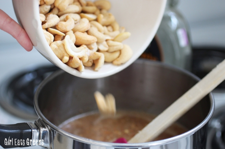 Salted Caramel Cashew Chocolate Cookie Bars Gluten Free Vegan Vegetarian Girl Eats Greens_0033