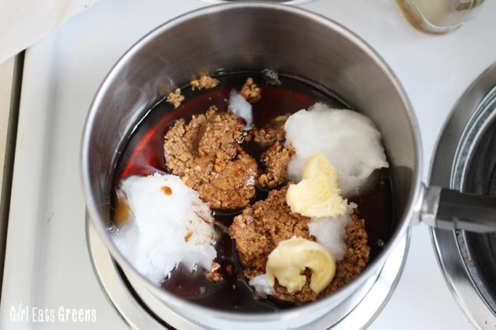 Salted Caramel Cashew Chocolate Cookie Bars Gluten Free Vegan Vegetarian Girl Eats Greens_0037