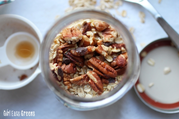 Maple Pecan Overnight Oats Gluten Free Vegan Vegetarian Girl Eats Greens_0020