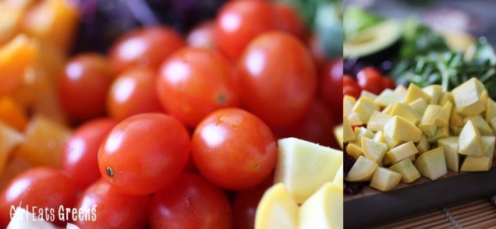 Rainbow Salad Ginger Sesame Dressing Vegan Vegetarian Gluten Free Girl Eats Greens_0010